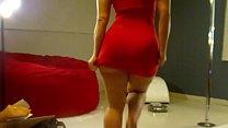 Phat ass in red dress (virgoperidot) 3 min