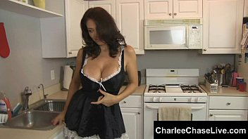 Submissive Maid Tampa MILF Charlee Chase Pleasures a Big Cock!