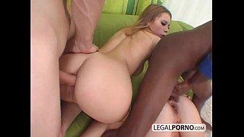 Two guys with big dicks ass-fucking two sexy girls  SB-3-02