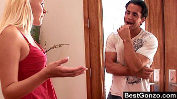 Slutty stepsister gets what she wants 10 min
