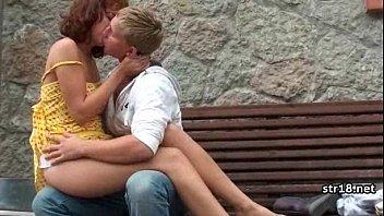 Amateur teen couple fucking on cam