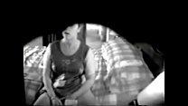 My mum fingering watching porno caught by hidden cam