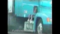 trucker girl pissing
