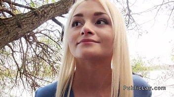 Russian blonde nurse banging in public 7 min