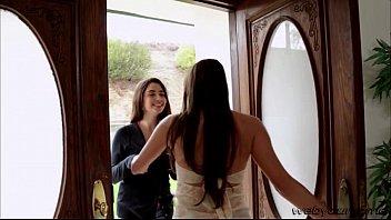 Hot teen Eva Sedona gets her 1st lesbo sex scene with Celeste