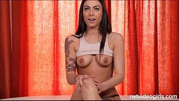 Rox displays her tats and nipple studs