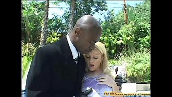 blonde teen anal and double penetration with two big black dicks