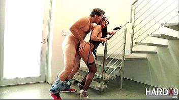 Pretty damn hot Selena gets pussy banged hard by Manuel