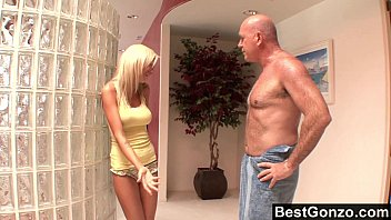 Kaylee spying on her stepdad and getting what she wants