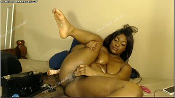 Sexy Ebony Fucking Machine