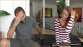 Petite StepDaughter Fucked By Older Daddy