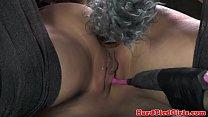 BDSM fetish sub Casey Calvert hogtied