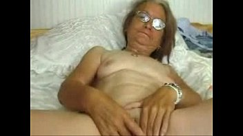 Horny cute granny having fun. Amateur older