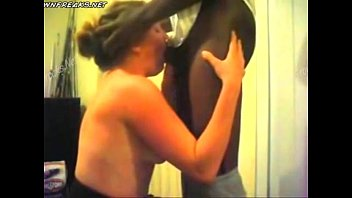 She gets facefucked by bbc till he cums in her throat