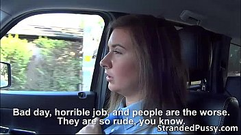 Damn hot officer Latoya is joyful getting by the hunk driver
