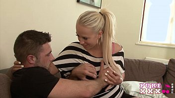 PURE XXX FILMS Horny Stunning Housewife