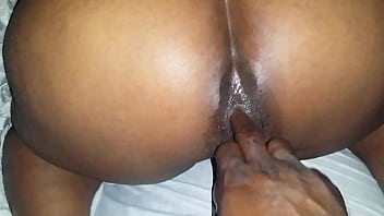 Finger Fucking My Wife Ass While She Plays With Her Toy