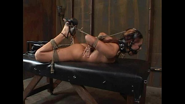 """Satine Phoenix - Perfect Slave """"Hogtied and Fucked"""" 02/25/2007"""