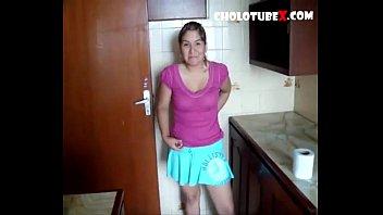 Cachando a mi empleada serrana CholotubeX.com
