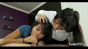 mother teaching daughter 387