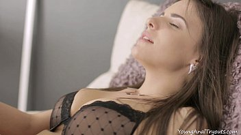 Young Anal Tryouts - Luda arches her back