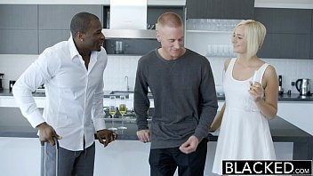 BLACKED Cheating Blonde Wife Kate Englands first BBC