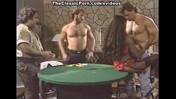 Domonique Simone, Derek Lane, Randy West in Ron Jeremy fucking big breasted ebon