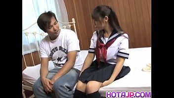 Momo rubs dongs between big tits and is fucked