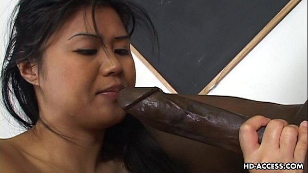 Super hot Asian lady gets a big black cock in her cunt 8 min