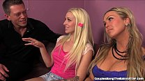 Teen Babysitter Seduced Into A Threesome!