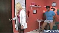 Hard Sex Tape With Dirty Doctor Bang Horny Patient movie-05