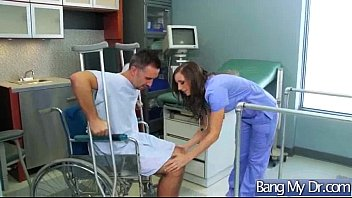 Hard Sex Tape With Dirty Doctor Bang Horny Patient movie-29
