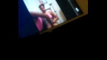 college ebony girl twerks on facetime with bestfriend