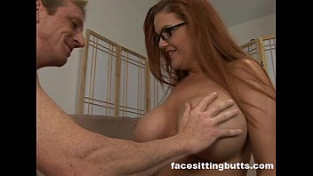 Guy fucks his new busty redhead step mom 34 min