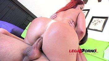 Big butt slut Lady Love first anal SPX004