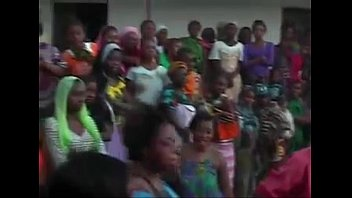 African Babes Dance and Show Pussy