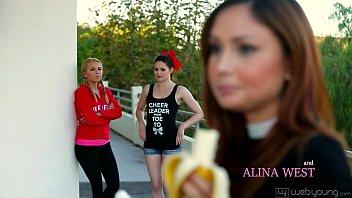 Webyoung - Jenna J Ross, Kota Sky, Alina West, Ariana Marie 6 min