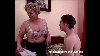 Teen Boy Fucks Bestfriend's Hot Blonde Mom