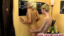 Emo gay porn interracial New guy Ryan Morrison faces a enormous