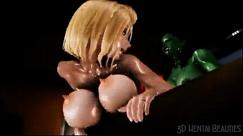 3D bigcock futa fucks her gf from behind