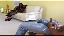 Hot threesome between Jada Fire and Misty Stone 25 min