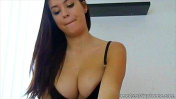 Brooke Avery Enjoys Taking Her Boyfriend's Cock