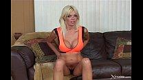 Jordan Blue - Ugly blond girl gets a good creampie