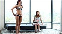 Adorable teen does a porn test run OMFG