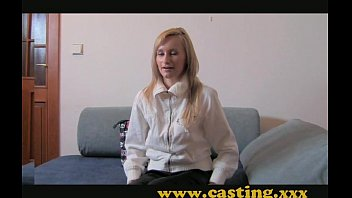 Casting - Anal creampie for cooky blonde