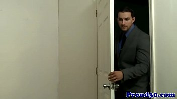 Clip - Mature Gay Stud Visits Partners Office, Porn - HD Video