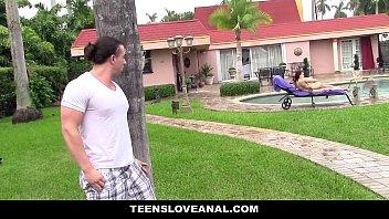 TeensLoveAnal - Teen Ass (Kimber Woods) Fucked By Peeping Tom 10 min