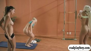 Hot yoga session with busty Khloe Terae