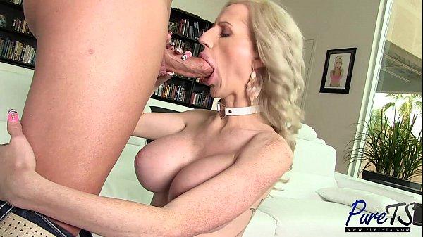 super busty Juliette gets loved up & banged 10 min