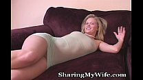 Housewife Alone With Her Big Toy